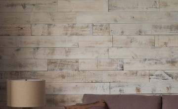 Reclaimed Wood Wallpaper for Walls