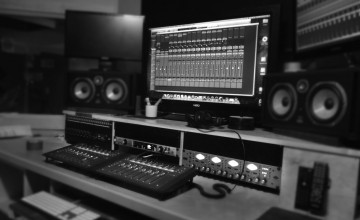 Recording Studio Wallpaper