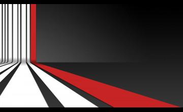 Red Black White Wallpaper