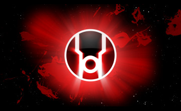 Red Lantern Symbol Wallpaper