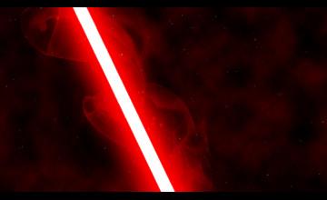 Red Lightsaber Wallpaper