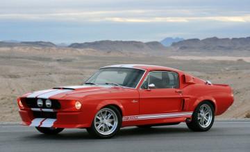 Red Mustang GT500 Eleanor Wallpaper