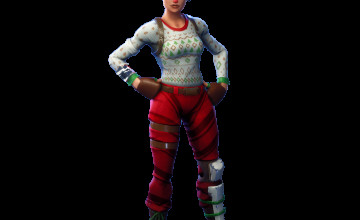 Red Nosed Raider Fortnite Wallpapers