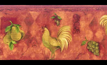 Red Rooster Wallpaper