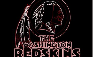 Redskins Wallpaper in 3D