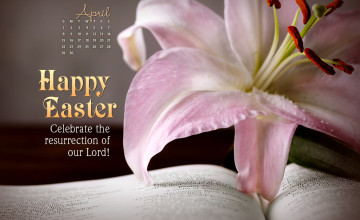 Religious Happy Easter Wallpaper