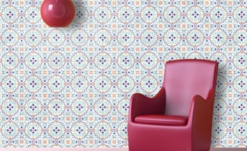 Removable Adhesive Wallpaper Tiles