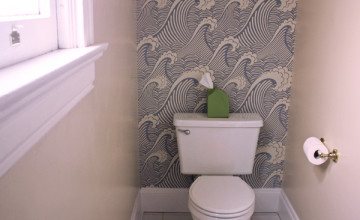 Removable Wallpaper for Bathrooms