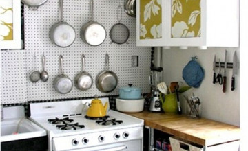 Removable Wallpaper on Cabinets