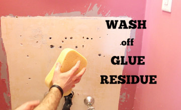Remove Old Wallpaper Paste Residue