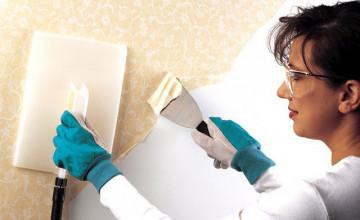 Removing Vinyl Wallpaper