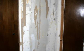 Removing Wallpaper Glue from Drywall