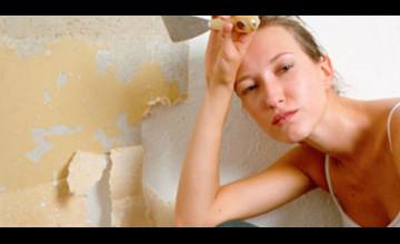 Removing Wallpaper Glue