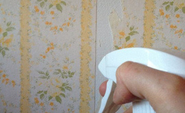Removing Wallpaper with Vinegar
