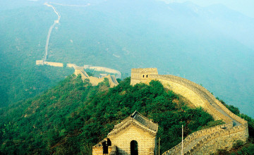 Repaired Wallpaper Great Wall of China