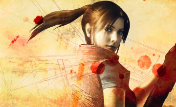 Resident Evil Claire Redfield Wallpaper