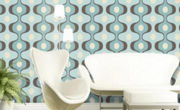 Retro Modern Wallpaper
