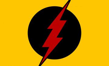 Reverse Flash Logo Wallpaper