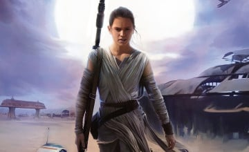 Rey Star Wars Wallpaper