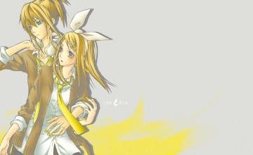Rin and Len Wallpaper
