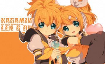 Rin and Len Wallpapers