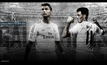 Ronaldo and Bale Wallpaper
