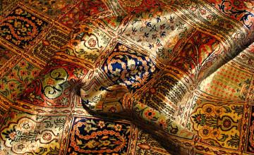 Rug Girl Wallpaper