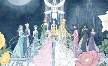 Sailor Moon Manga Wallpaper