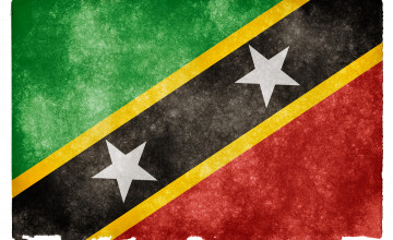 Saint Kitts And Nevis Flag Wallpapers