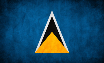 Saint Lucia Flag Wallpapers