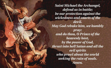 Saint Michael Wallpaper
