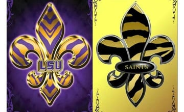 Saints LSU Wallpaper
