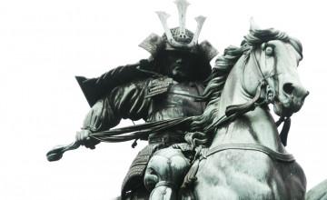 Samurai Horsemen HD Wallpaper