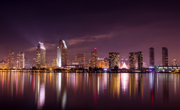San Diego Skyline Wallpaper