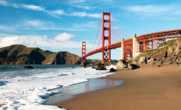 San Francisco Beach Wallpaper