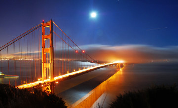 San Francisco Bridge Wallpaper