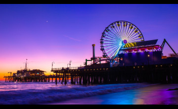 Santa Monica Beach Wallpaper