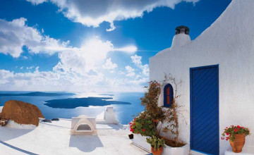 Santorini Wallpaper Murals