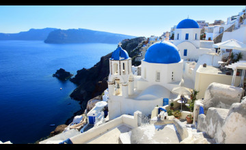Santorini Wallpaper City