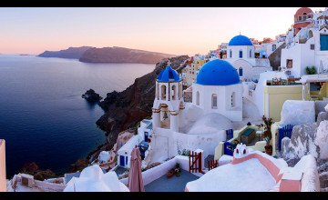 Santorini Wallpaper Summer