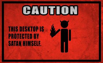 Satanic Wallpaper Desktop
