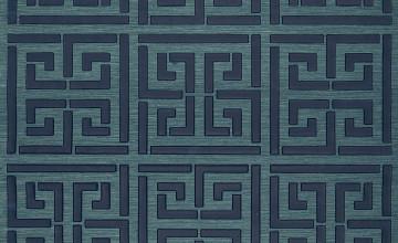 Schumacher Greek Key Wallpaper