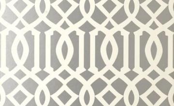 Schumacher Trellis Wallpaper