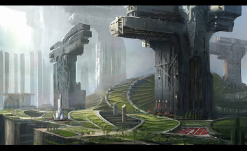 Sci Fi City Wallpapers