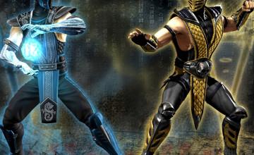 Scorpion vs Sub Zero Wallpaper