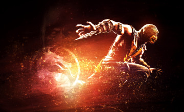 Scorpion Wallpaper MKX