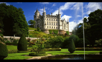 Scottish Castles Wallpaper