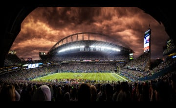 Seattle Seahawks Football Field Wallpaper