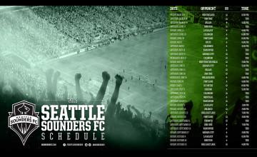 Seattle Sounders Schedule Wallpaper