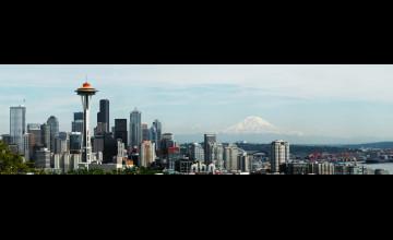 Seattle Wallpaper Dual Monitor